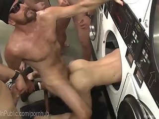 Anal,Domination,Fetish,group sex,bdsm,gay he receives fastened In Public And nailed By Everyone!