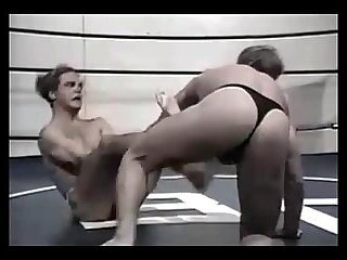 Cumshot,Domination,punishment,thongs,wrestling,nudity,jo,wrestling muscle,gay Jimmy Dean vs Billy Roberts