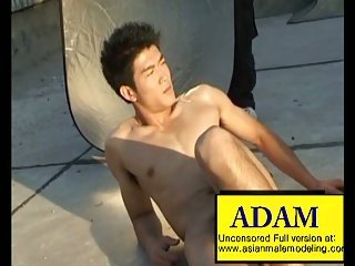 gay Asian Male Model Adam