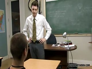 gay Horny Teacher Pounding His Student