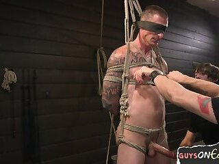 Bondage,Domination,Fetish,Blowjob,bdsm,hung,gay Ripped muscle stud getting edged
