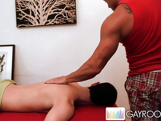 Gay Porn (Gay);Men (Gay);Massage Bait;Gay Room Jake Get's The Steel Cock.p4