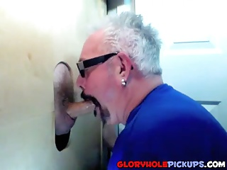 Amateur (Gay);Blowjobs (Gay);Gay Porn (Gay);Gloryhole Pickups;Two Guys;In Mouth;Hole;Sharing Two guys sharing a mouth in a glory hole