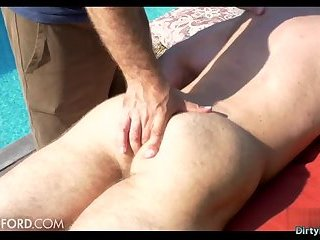 Outdoors,Rimming,ass,outdoor,hairy,gay Hairy bodybuilder outdoor and massage