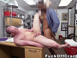 Anal,Amateur,Big Cock,Interracial,Pov,Tattoo,Office,gay sex,hardcore,casting,bbc,backroom,story,fuckoffcracker,gay Real cracker bent over and banged by BBC manager