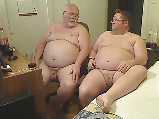 Men (Gay);Amateur (Gay);Bears (Gay);Daddies (Gay);Masturbation (Gay) 2 Chubs for 5 Hours