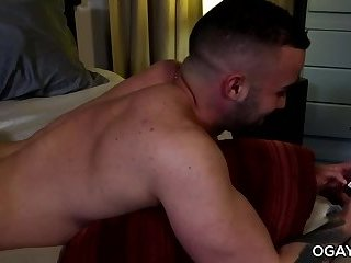 Anal,Hunks,Rimming,bear,anal sex,hardcore,condom,beefy,hairy,gay Bear men having some gay fun