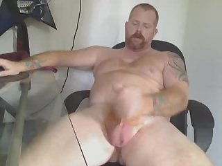 Amateur,Masturbation,Solo,Hunks,gay Thick red dilf