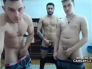 Amateur,Masturbation,webcam,Homemade,Threesome,group sex,masturbating,cam boy,camboy,cams,Camsex,gay 3some of Guys Masturbating Together