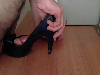 Men (Gay);Hard;Fucked Peeptoe Heels Fucked HARD HUGE CUMSHOT