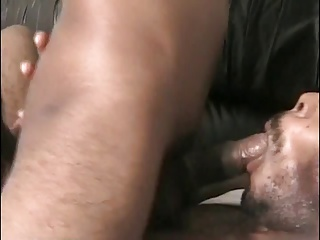 Gay Porn (Gay);Black Face;Horny Black;Black Horny black dude gets splooge on his face
