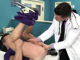 Blowjob (Gay),Gays (Gay),Muscle (Gay),Outdoor (Gay) Muscle doctor anal sex and cumshot