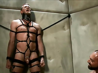 Bondage,Domination,Fetish,Handjob,bdsm,gay bdsm - Major's Prisoner.