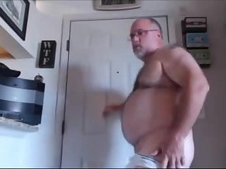 Amateur,Masturbation,Solo,Fat,Mature,gay Business bear strips down after a hard day at the office
