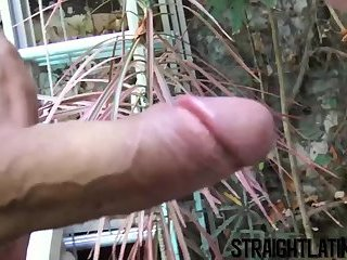 Big Cock,Pov,Tattoo,Blowjob,Bareback,gay,outdoor,piercing,big dick,cum in mouth,young men,straight turned gay,StraightLatino Bearded pool boy with sexy tatts raw stretched outside
