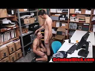 Asian,First Time,Interracial,Uniform,Bareback,reality,thug,police,cop,convict,perp,gay Asian Thug Bareback Fucked by a man in uniform