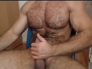 Amateur,Solo,Mature,muscle,hairy,gay DILF With A Side Of Beef