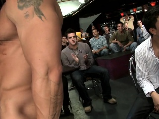 Gays (Gay),Group Sex (Gay),Hunks (Gay),Men (Gay) He gets his taut white booty fucked by the stripper