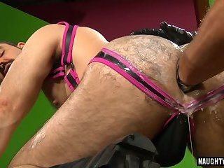 Cumshot,Fetish,Fisting,leather,wolf,hairy ass,gay Hot wolf fetish and cumshot