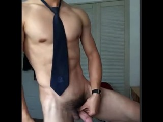 cum;straight;tie;suit;intense-orgasm;business-trip,Asian;Muscle;Solo Male;Gay;Hunks;Straight Guys;Jock;Webcam;Cumshot Business hunk hadn't cum for 2 month &release on webcam