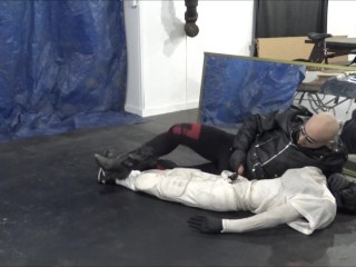 european;leather-jacket;ankle-socks;cowboy-boots;black-tights;tights;huge-cock;silicone-mask;dummy;gloves,Euro;Fetish;Solo Male;Gay;Jock;Mature;Verified Amateurs leather tights man cums over his football dummy