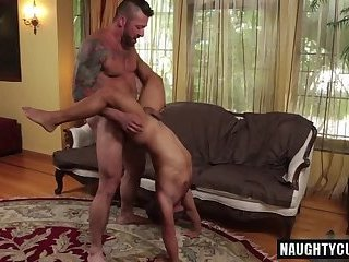 Anal,ass,oral,fuck,licking,cock sucking,muscled, hardcore fuck,gay Tattoo jock anal sex with cumshot