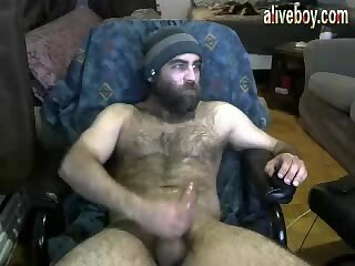 Amateur,Masturbation,Solo,Big Cock,Bears,Homemade,Hunks,Pov,webcam,jerking off,guy sex,boy,hairy,gay porn,wanking off,gay Hairy bearded monster daddy  wanking off