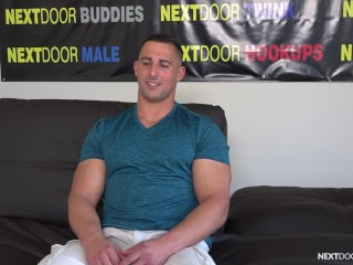 nextdoorcasting;casting-audition;casting;casting-couch;amateur;audition;interview;solo;jerk-off;muscle-solo;uncut;muscle;buff;fit;masturbation;straight,Muscle;Solo Male;Gay;Hunks;Straight Guys;Amateur;Uncut;Casting NextDoorCasting - Buff & Kinky Hunk Luke Miles' Porn Audition