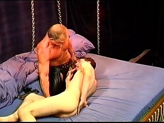 BDSM (Gay);Blowjobs (Gay);Gay Porn (Gay) CBT beginner's session with young, hung, muscular newbie.