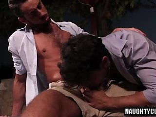 Anal,gay,hardcore,latin,hung,muscled Latin gay anal sex and cumshot