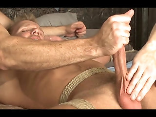 Amateur,Bondage,Domination,Fetish,bdsm,muscled,gay Southern Bi chap tied And Edged