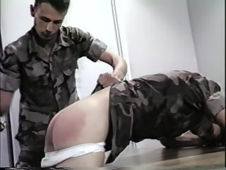 spanking,soldier,worker,gay Senior Spanking