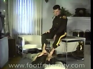 muscle,straight-gay,teddy,sevfest,gay straight cop officer get boot whorshipping footjob