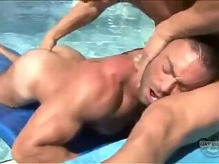 Anal,Big Cock,Body Builders,Hunks,Pornstars,Threesome,Blowjob,Bareback,gay,Trenton Ducati,Angelo Marconi Water Logged