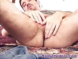 Gay Porn (Gay);Amateur (Gay);Ramjet Videos Hung stud Charles using his jelly beads for the first time