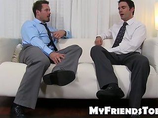 Feet,softcore,foot fetish,socks,Toe Sucking, toes, feet licking,MyFriendsToes,Bare Feet,sole licking,gay Office stud gets his juicy feet slurped with delight