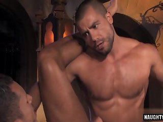 Anal,Threesome,gay,fuck Arab gay threesome and anal cumshot