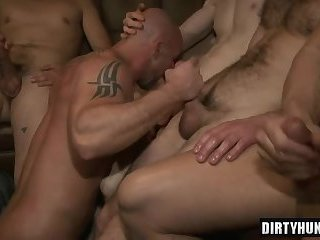 Anal,Gangbang,Party,Blowjob,gay,orgy,muscle,muscled, brazil Muscle gay bound with cumshot