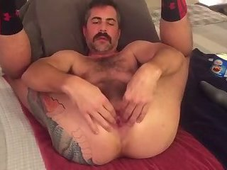 Amateur,Solo,Dildo,Fetish,Fisting,Mature,Tattoo,gay Getting this man cunt ready for some pounding