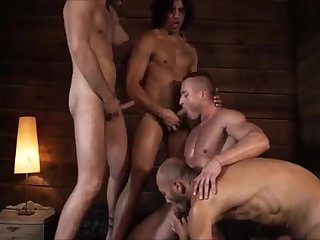 Anal,ass,group sex,fuck,muscled,ga,gay Dirty Muscle men In 4some
