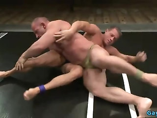 Anal,Domination,Fetish,gay,muscle,wrestling Hot gay anal with cumshot