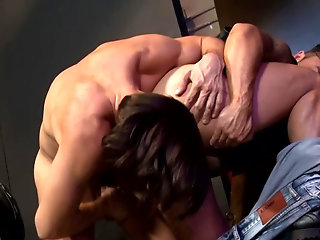 Rimming,anal sex,condom,big dick,hairy,gay porn,athletic,facial hair,gay Marco and Bruno are cruising each other