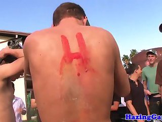 outdoors,party,twinks,gays,outdoor,college,public,party sex,gay Amateur college twink toyed for hazing