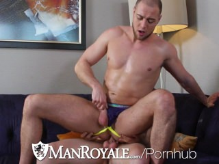manroyale;big-cock;hd;paul-cannon;brendan-phillips;anal;anal-sex;blowjob;cumshot,Blowjob;Big Dick;Gay ManRoyale - Paul Cannon Pounds Muscle Hunk