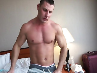 Masturbation,Solo,Big Cock,Body Builders,toys,muscled,gay David fascinating Solo