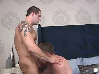 Anal,Hunks,Tattoo,gay,big dick Big dick gay anal sex and creampie