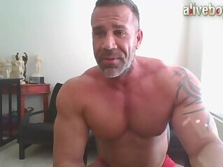 Cumshot,Amateur,Masturbation,Solo,Big Cock,webcam,Homemade,Tattoo,muscle,jocks,daddy,jerking off,wanking off,gay muscle daddy wank and cum