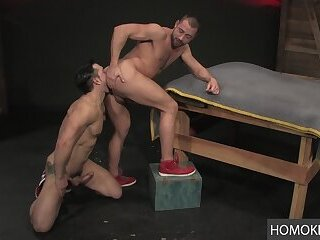 Anal,Masturbation,Rimming,Blowjob,studs,gay,Jimmy Durano,Donnie Dean Raw Ass Exploration by 2 Gay Studs