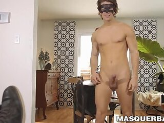 Masturbation,Big Cock,Fetish,muscle,hunk,big dick,toys,stud,sex machine,jock,fleshlight,athletic,abs,mask,Masquerbate,gay Masked jock strokes his huge cock and fucks a fleshlight