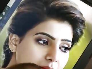 Man (Gay) Cum Tribute To samantha Akkineni